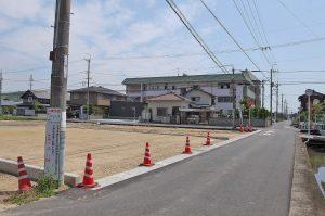 新田 売地 分譲地